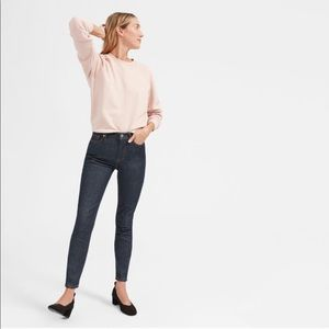 Everlane blue skinny jeans
